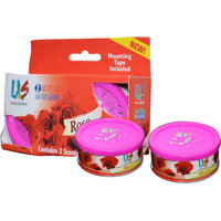 ULS Air Freshner Rose Scented Gel Car Perfume For Car H