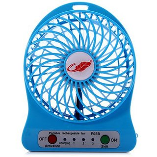 Powerpak Branded Powerful Portable Wireless Rechargeable Mini Fan