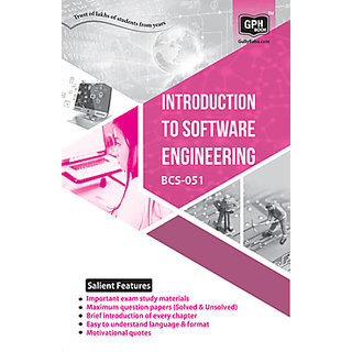 BCS51 Introduction to Software Engineering (IGNOU Help book for BCS-51 in English Medium)