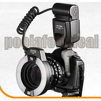 Viltrox JY-670 Macro Close-Up Ring LED Flash LIGHT For CANON NIKON SONY DSLR/SLR