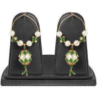 Jewels Gehna Alloy Party Wear  Wedding Latest Designer Fancy Simple Jhumki Earring Set For Women  Girls