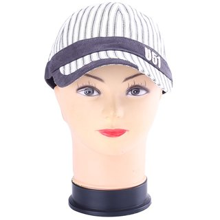 InnovationTheStore White And Black Stripes Cap