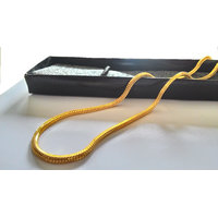 Gold Plated  Gold Pendants Chains For Men