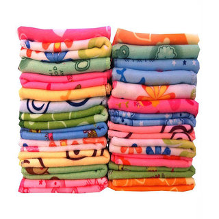 xy decor pack of 20 printed face towel