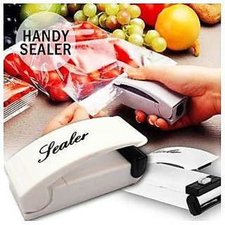 Kudos Mini Battery Operated Plastic Food Vegetable Bag Pouch Sealer