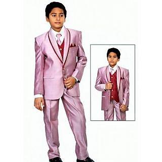 Boys Full Sleeve Coat Suit Set