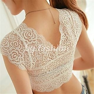 Stylish Net  Bralette Top Dresses Bra