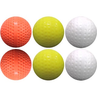 Ceela Sports Dimple Hockey Ball Pack of 6