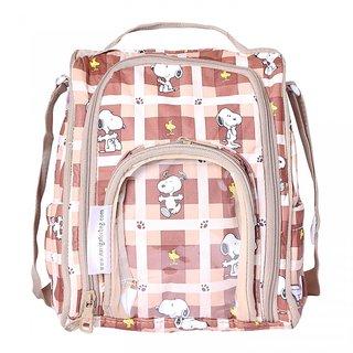 Navigator Brown Color Sling Diaper/Picnic Bag
