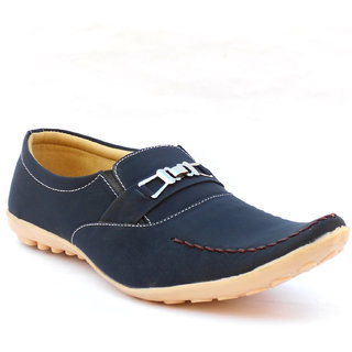 Anapple Men's Blue Casual Loafers