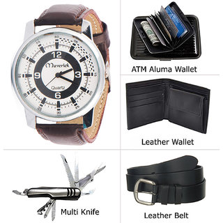 Black PU Belt For Men (Synthetic leather/Rexine)