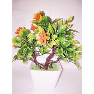 Artificial Bonsai Wild Plant With  Base
