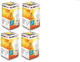 7W B22 Base Bulb Pack of 4