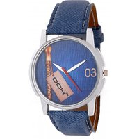 DCH Quartz Analog Blue Round Dial Men's Watch IN-09