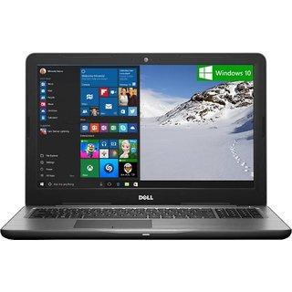 DELL INSPIRON 5567 CORE i5 7200U 7TH GEN/8 GB/1TB/4 GB GRAPHICS/15.6 FHD/WIN10/BLACK/NO BAG Laptops