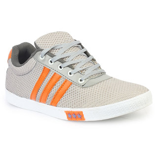 Inure Grey Sports Shoe For Men Art No-1121