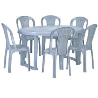 NILKAMAL GRAND DINING TABLE WITH CHAIR 4002
