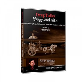 Bhagavad Gita - Untold Perspective - Adhyay 2 -(Part 1) - DeepTalks by Deep Trivedi (Hindi) (Set of 2 DVDs)
