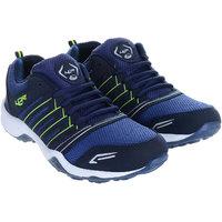 Lancer Men Blue Green Running Shoes