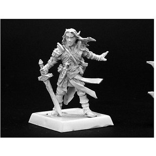 Arael Half Elf Cleric Pathfinder Series Miniatures