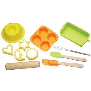 Kitchen Craft 11 Piece Starter Baking Set For Kids Kclm888