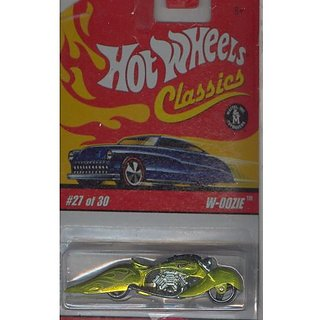 Hot Wheels Classics Series 2 2005 27 of 30 LIME GREEN W-OOZIE 1:64 Scale Die Cast Body & Chassis Spe