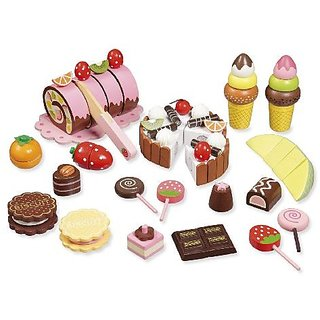 """Wooden toy food """"Sweets"""""""