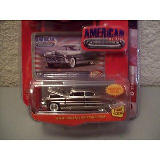 Johnny Lightning American Chrome R1 Chrome 1951 Hudson Hornet