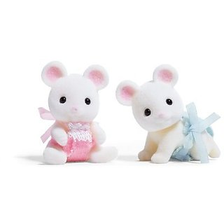 Calico Critters Milky Mouse Twins
