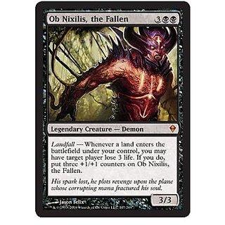 Magic: The Gathering Ob Nixilis, The Fallen (107) Zendikar