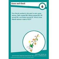 Math Practice Cards: Problem Solving, Grade 2 (Brain Bl
