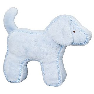 Blue Dog Squeaker From Douglas Cuddle Toy
