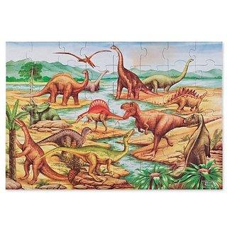 Melissa & Doug Dinosaurs Floor Jigsaw Puzzle (48 Pieces)