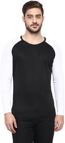 Fitness  Fashion Black Round Neck Men's T Shirt