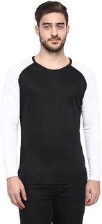 Fitness  Fashion Black Round Neck Men's T Shirt
