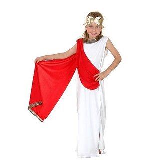Roman Goddess Childs Fancy Dress Costume Age 7-9 Years