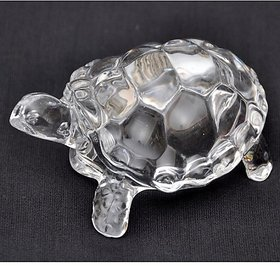 Kriwin Crystal Tortoise For Long Life Wealth Health Success and Good Luck Vastu  Feng Shui