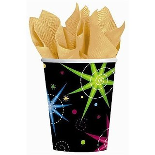 happy new year theme party supplies favors night lights 8ct 9oz paper cups