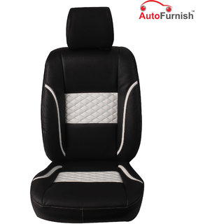 Autofurnish (PL-201 Poise) Volkswagen Vento Custom-fit Leatherette 3D Car Seat Covers