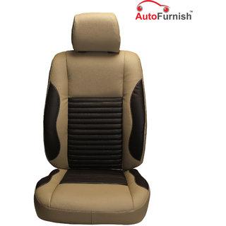 Autofurnish (PL-207 Cave) Maruti Omni (2005-14) Custom-fit Leatherette 3D Car Seat Covers