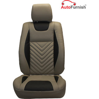Autofurnish (PL-204 Domino) Toyota New Fortuner (2016) Custom-fit Leatherette 3D Car Seat Covers