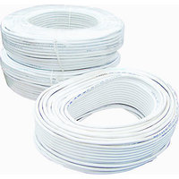CCTV WIRE CABLE 3+1 CORE ALLOY-- 90 METER (100 YARDS) White