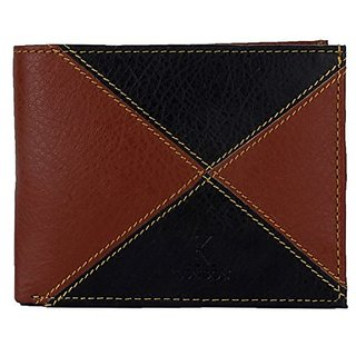 K London Multi-Coloured Mens Wallet (Synthetic leather/Rexine)