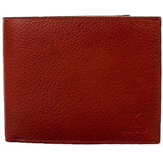 K London Real Leather Mens Wallet Tan - 2005tan
