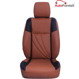 Autofurnish (PL-208 Petal) Honda Brio Custom-fit Leatherette 3D Car Seat Covers