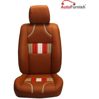 Autofurnish (PL-205 Bronco) Toyota Etios Cross Custom-fit Leatherette 3D Car Seat Covers