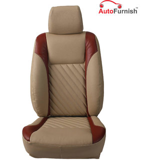 Autofurnish (PL-202 Repose) Ford Fiesta Custom-fit Leatherette 3D Car Seat Covers