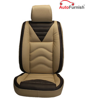 Autofurnish (PL-206 Vibro) Chevrolet Aveo U-VA Custom-fit Leatherette 3D Car Seat Covers