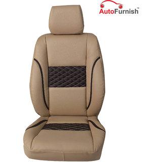 Autofurnish (PL-201 Poise) Maruti Omni Van 5S Custom-fit Leatherette 3D Car Seat Covers