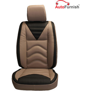 Autofurnish (PL-206 Vibro) Mahindra Xylo (2009-14) Custom-fit Leatherette 3D Car Seat Covers